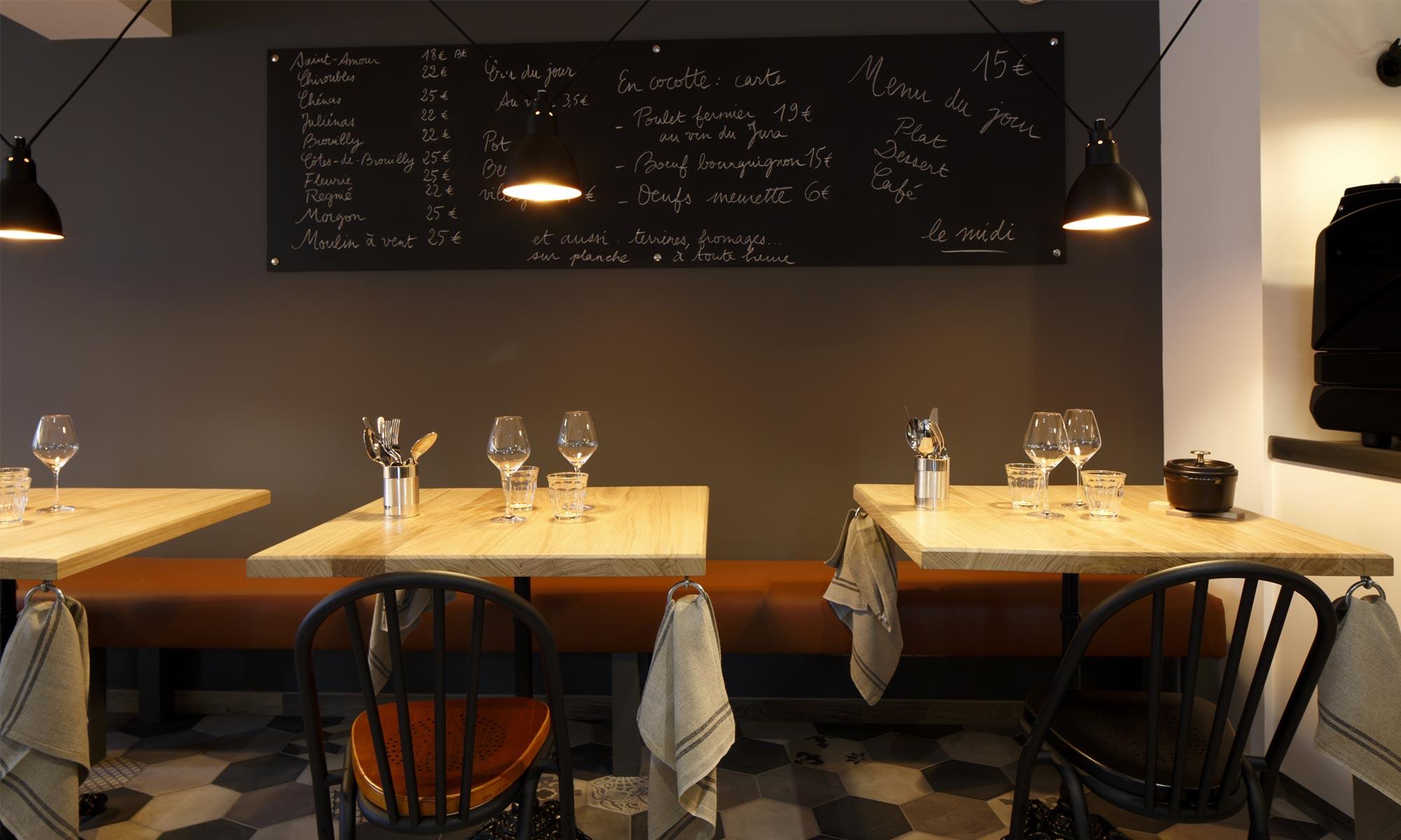 Accueil jos phine table bar vin et cuisine de for Table salle a diner